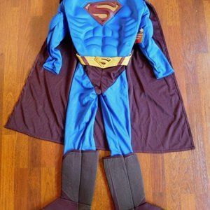 NEW Child's Superman Muscle Costume - Sz. 8/10